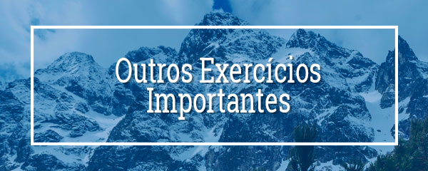 Outros Exercícios Importantes
